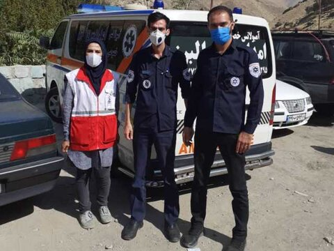 پوشش پزشکی مسابقات اسلالوم قهرمانی کشور در البرز
