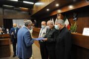 سردار سرلشکر صفوی از دکتر مسجدی و رزمندگان وزارت ورزش تجلیل کرد
