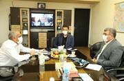دیدار دکتر مسجدی با رئیس فدراسیون انجمن های ورزش های رزمی