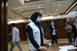 ارائه خدمات به شرکت کنندگان در جلسه شورای مشاوران ایثارگران وزرا