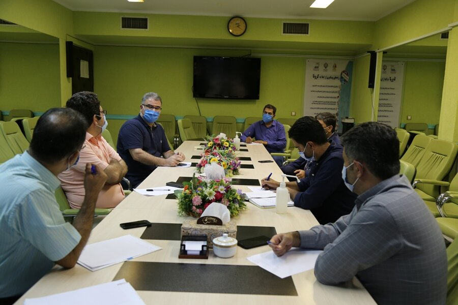 جلسه هماهنگی شماری از کمیته های تخصصی فدراسیون
