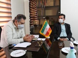 جلسه معرفی دبیر هیأت پزشکی قزوین