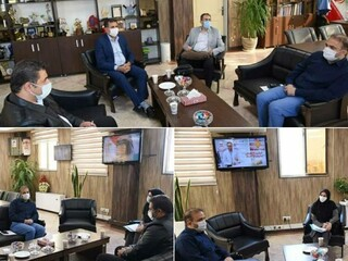 اولین نشست مشترک مدیران هیأت پزشکی با مدیر کل جدید اداره ورزش و جوانان استان البرز