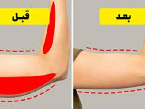 رابطه چاقی با بازوها