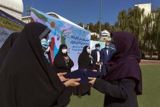 تجلیل از خادمان سلامت پزشکی ورزشی در پویش ملی ارتقای نشاط و سلامت زنان