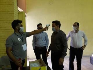 مراسم اهدایی خون جامعه ورزش در استان خوزستان