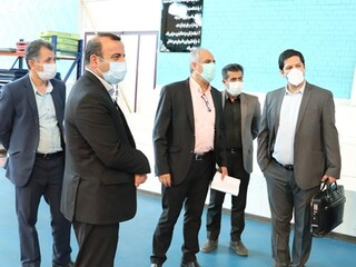 بازدید سرپرست فدراسیون پزشکی ورزشی از پایگاه قهرمانی فارس