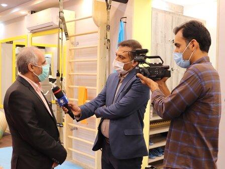 گزارش شبکه 3 از حضور سرپرست فدراسیون پزشکی ورزشی در شیراز