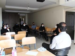 جلسه توجیهی حوزه های بیمه گر هیأت پزشکی قزوین برگزار شد