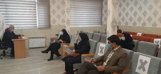 جلسه بررسی گزارش عملکرد شش ماهه اول سال ۹۹ هیات پزشکی ورزشی استان مرکزی