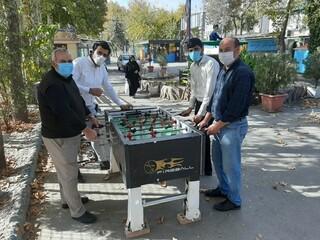 مسابقات فوتبال دستی کارکنان هیات پزشکی ورزشی خراسان رضوی