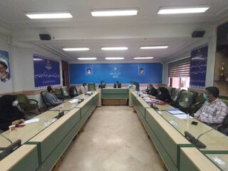 سومین جلسه ستاد نظارت بر سلامت اماکن ورزشی مازندران  برگزار شد