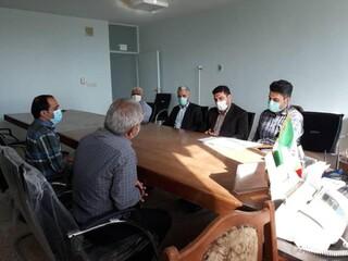 بازرسای از هیات های پزشکی ورزشی شهرستانهای خوزستان