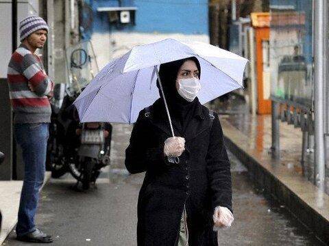 باران با ماسک چه می کند؟