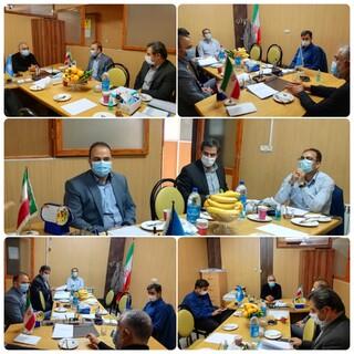 نشست هیأت رئیسه هیأت پزشکی ورزشی استان البرز با مدیر کل ورزش و جوانان استان البرز