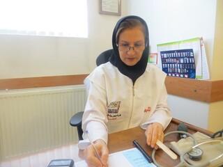 دکتر مهشید کیانی - مسئول کمیته درمان چها رمحال و بختیاری
