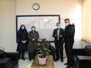 جلسه هماهنگی با رئیس هیأت پزشکی شهرستان البرز قزوین