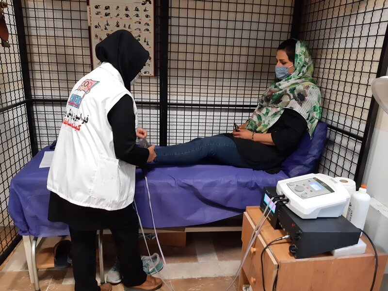 حضور رکورددار ملی و باشگاهی پرتاب دیسک در هیات پزشکی ورزشی اردبیل