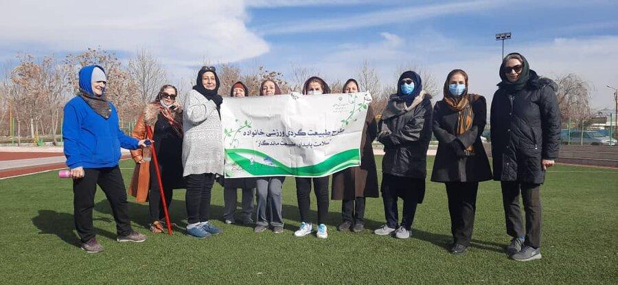 """طرح طبیعت گردی ورزشی در خانواده  """"سلامت پایدار،طبیعت ماندگار""""در زنجان اجرا می شود"""
