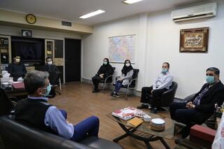 دیدار کارکنان فداسیون پزشکی ورزشی با دکتر غلامرضا نوروزی