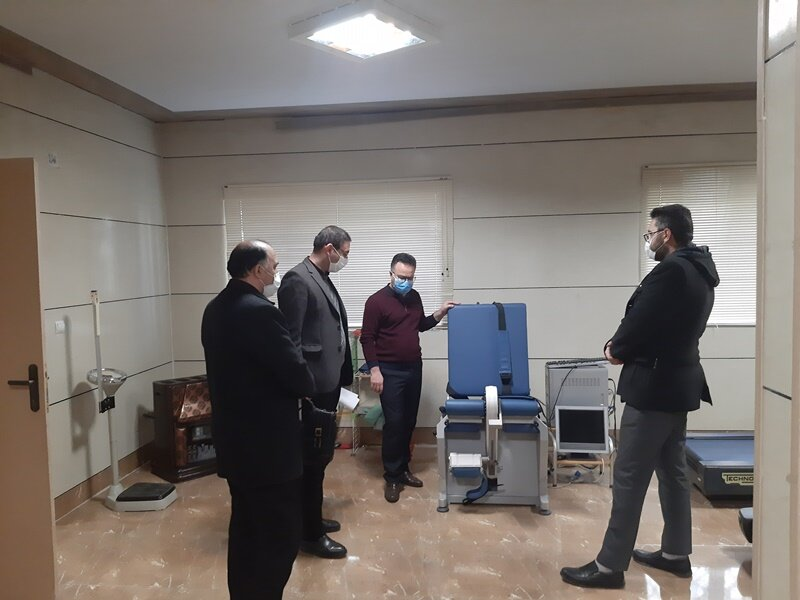 بازدید از هیات پزشکی ورزشی استان اردبیل