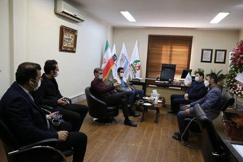 دیدار مدیرکل ورزش و جوانان استان مازندران با دکتر نوروزی
