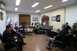دیدار مسئولان فدراسیون بدنسازی و پرورش اندام با دکتر نوروزی