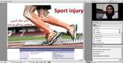 """دوره تخصصی """"کمک های اولیه در آسیب های حاد ورزشی"""""""