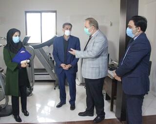بازدید دکتر نوروزی، رئیس فدراسیون از هیات پزشکی ورزشی مازندران