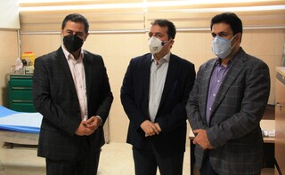 بازدید دکتر اردیبهشت از ستاد پزشکی ورزشی آزادی