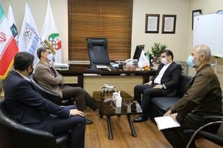 دیدار مدیرکل اطلاع رسانی و روابط عمومی وزارت ورزش و جوانان با رئیس فدراسیون پزشکی ورزشی