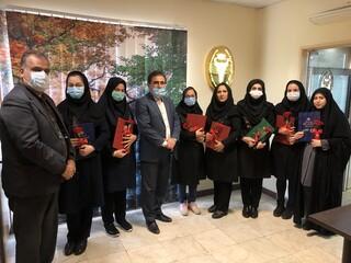 تقدیر و تجلیل از بانوان همکار هیات پزشکی ورزشی استان گیلان