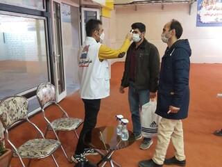 پوشش پزشکی مراسم افتتاح سالن سرپوشیده دو ومیدانی مجموعه ورزشی علی دایی در اردبیل