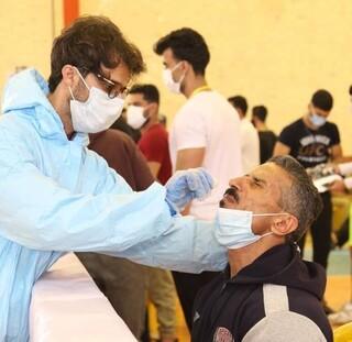 تست PCR ورزشکاران شرکت کننده در مسابقات پرورش اندام باشگاههای استان بوشهر انجام شد