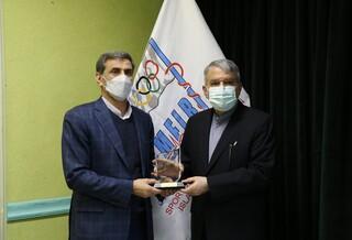 حضور دکتر صالحی امیری در فدراسیون پزشکی ورزشی