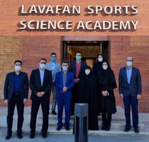 بازدید معاون توسعه ورزش بانوان وزارت ورزش و جوانان از آکادمی لوافان
