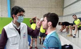 پوشش پزشکی اردوی تیم ملی کشتی