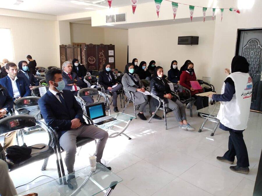 دوره آموزشی کمک های اولیه در خراسان شمالی برگزار شد