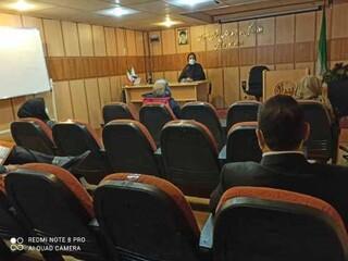 جلسه هماهنگی کمیته نظارت وبازرسی  با رابطین نظارت  درحوزه وشهرستانها