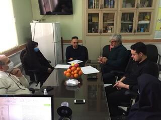 برگزاری جلسه هیات رئیسه، هیات پزشکی ورزشی استان آذربایجان شرقی