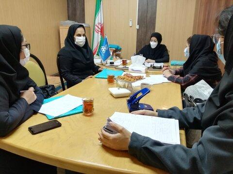 نشست شورای مرکزی نظارت بر سلامت اماکن ورزشی استان البرز