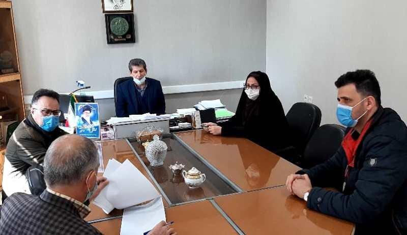 جلسه هیات رئیسه پزشکی ورزشی اردبیل برگزار شد