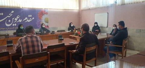 جلسه کمیته پوشش مسابقات زنجان
