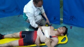 گزارش تصویری : پوشش پزشکی مسابقات کشتی انتخابی تیم ملی نوجوانان و جوانان توسط هیات پزشکی ورزشی مازندران