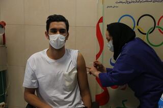 واکسیناسیون ورزشکاران المپیکی ها