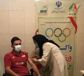 پیگیری تزریق دوز اول واکسن کرونا به ورزشکاران المپیکی