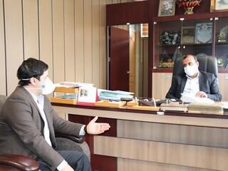 دیدار رئیس و دبیر هیات پزشکی ورزشی فارس با مدیرکل و معاون ورزشی، ورزش و جوانان فارس