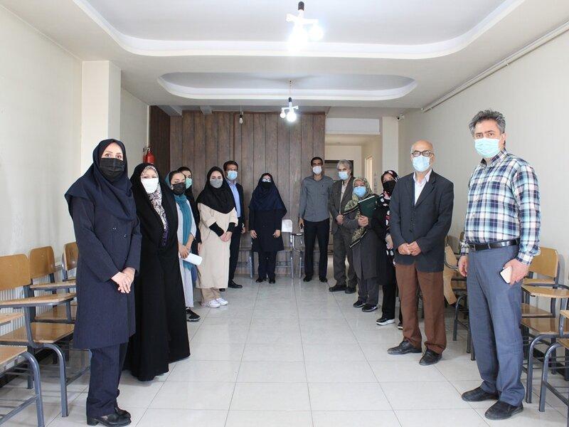 جلسه هماهنگی حوزه های صدور آنلاین عضویت خدمات درمانی در قزوین