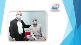 ترخیص حسن احمدی رئیس سابق اداره ورزش و جوانان شهرستان ماکو از بیمارستان