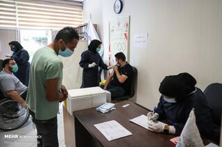مرحله دوم واکسیناسیون ورزشکاران پارالمپیکی